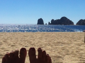 Dale's Toes at Cabo
