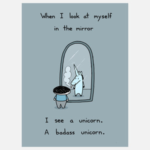 badass unicorn