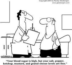 blood test cartoon