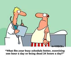 exercise or death?