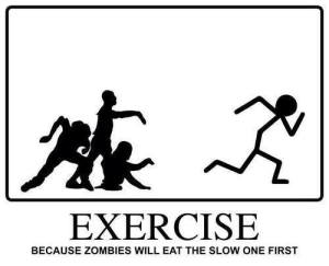 exercise zombies