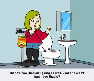Diane's new diet