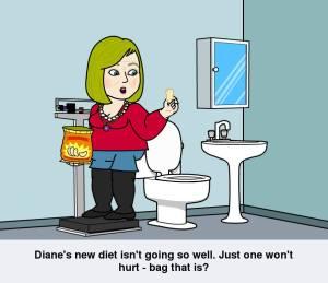Diane's new diet