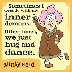Inner demons dance