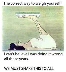 I've Been Weighing Myself Wrong All These Years!