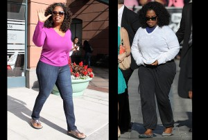 Oprah's Skin Tight Jeans