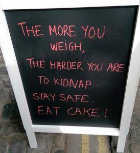 Good reason not to diet!