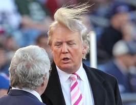 Trump old hair