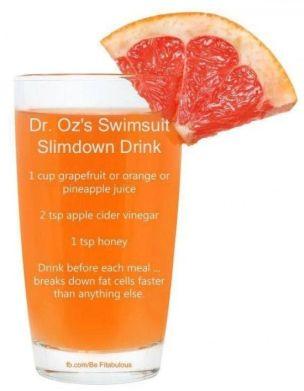 Dr Oz drink