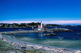 Esquimalt lagoon Fisgard Lighthouse